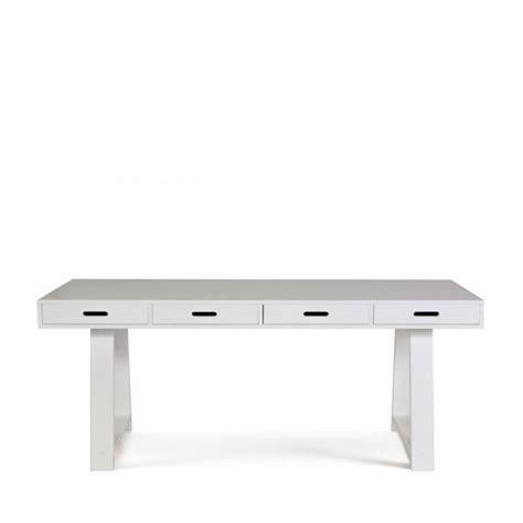 console en pin bureau console 4 tiroirs en pin teuna