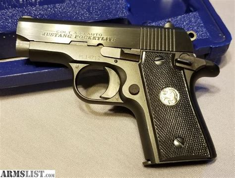colt mustang 380 price armslist for sale colt mustang 380 significant price