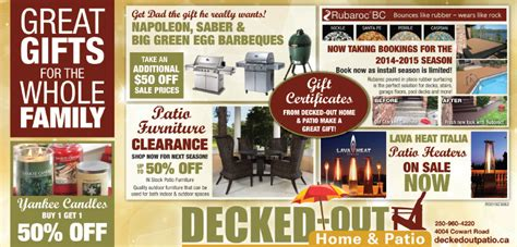 great gifts for the whole family decked out home and patio