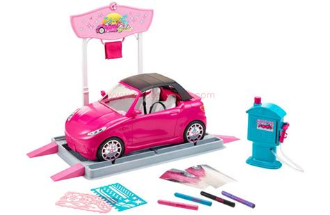 barbie cars from the barbie car wash design studio 2015