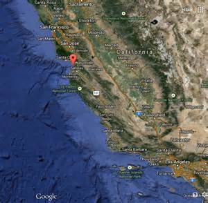 satellite map of california humpback whales in our faces at moss landing
