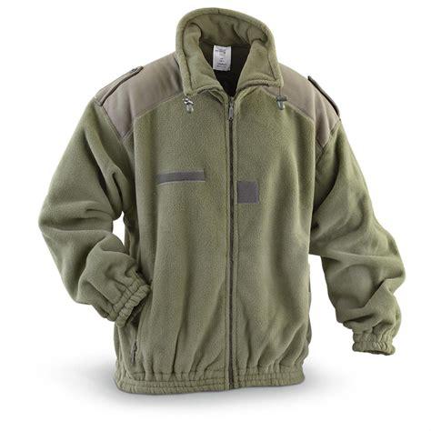 fleece coat nato surplus heavyweight fleece jacket new 580073 insulated jackets
