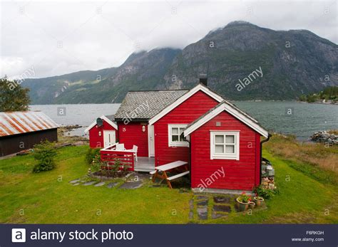 norway buy house red house norway geiranger fjord stock photo royalty free image 90260033 alamy