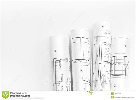 house architecture plan stock photography image 5591532 architect rolls and plans stock photo image 39324999