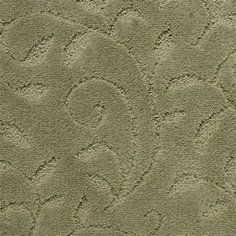 Leaf Pattern Carpet | graceful swirls of vine and leaf invoke a return to