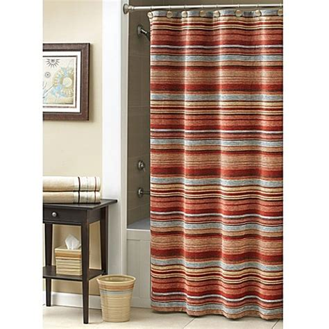 bed bath and beyond flagstaff buy croscill 174 flagstaff 70 inch x 72 inch shower curtain