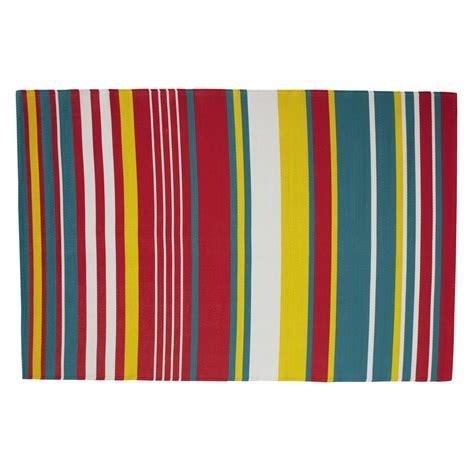 outdoor teppich outdoor teppich aus kunststoff 180 x 270 cm bunt