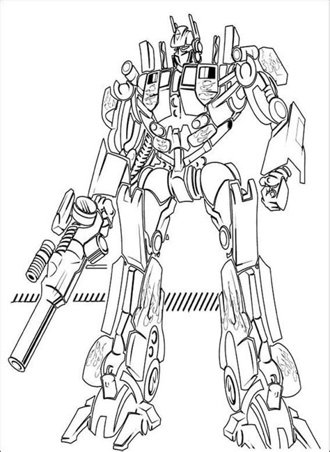 optimus prime coloring pages to print coloring home