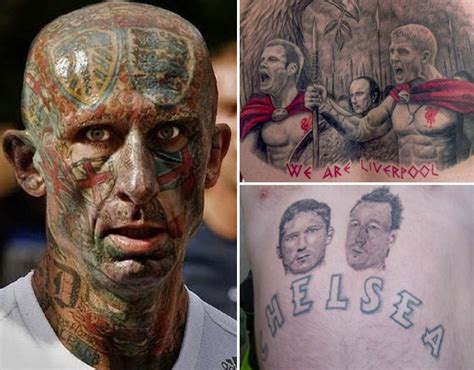 the worst tattoos ever the worst football tattoos galleries pics daily