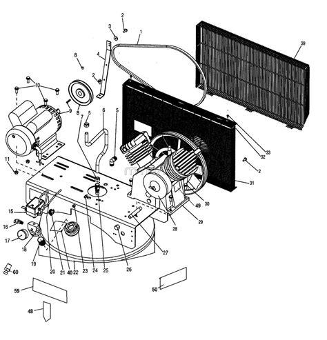 devilbiss parts e7540 type 0 air compressor