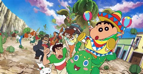 Kaos Shinchan 03 2015 crayon shin chan casts maaya sakamoto daisuke namikawa news anime news network