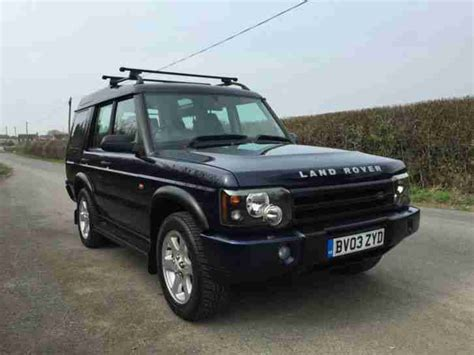 auto air conditioning service 2003 land rover discovery user handbook 2003 land rover discovery td5 es car for sale