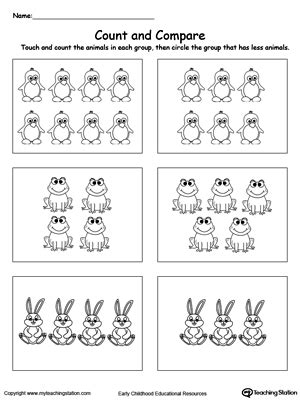 Ordinal Animal Character 13 count and write the number of animals myteachingstation