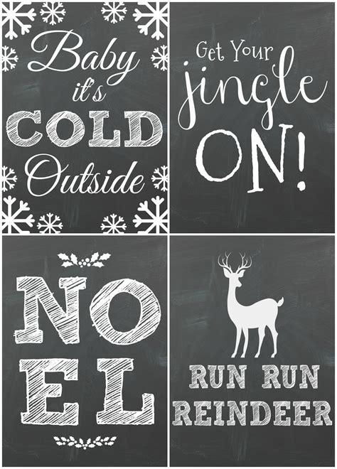 chalkboard christmas printables moms  answers