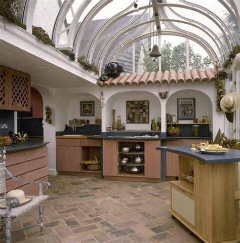 mediterranean style kitchen kitchen table glass modern mediterranean kitchen tiles