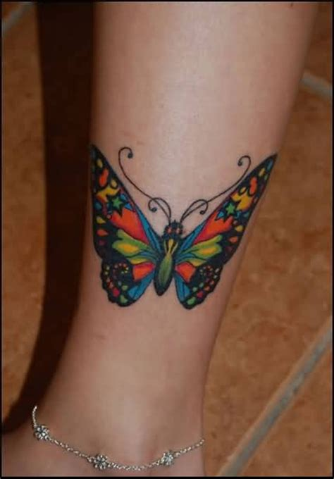 butterfly leg tattoo designs butterfly ideas and butterfly