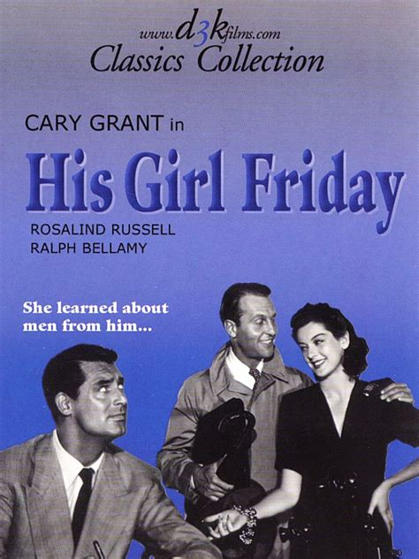 themes in his girl friday his girl friday 1940 rotten tomatoes