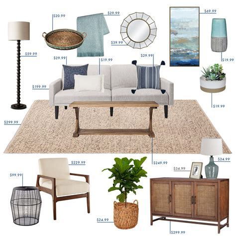 emily henderson target living room coastal living room