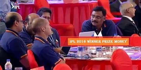 Ipl Winning Team Prize Money 2017 - vivo ipl 9 2016 prize money for winner playoff team