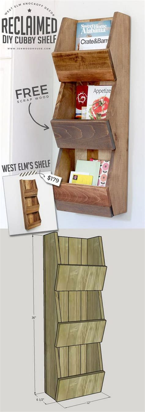 Diy Cubby Shelf by 20 Stylish Diy Shelves With Lots Of Tutorials Noted List
