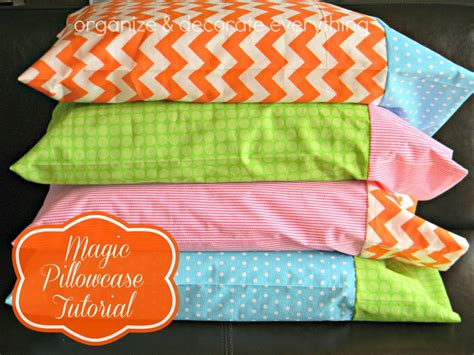 pattern for magic pillowcase magic pillowcase tutorial organize and decorate everything