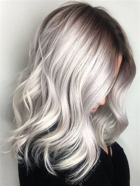 silver gray hair color deborahpraha silver grey hair color
