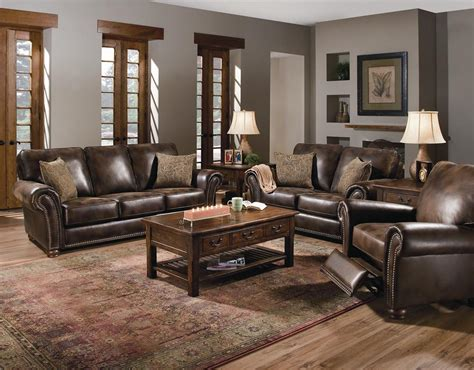 lane benson recliner lane benson loveseat with nailhead trim hudson s