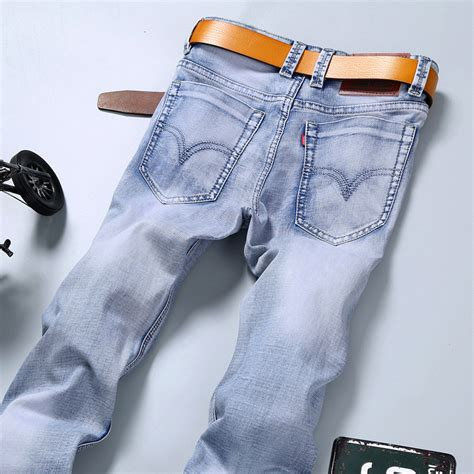 are colored pants in style for 2016 new fashion 2016 famous brand men jeans summer jeans light