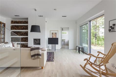 white house fine interiors house in finland with modern white interiors