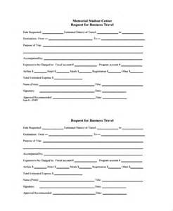 Product Request Form Template by Sle Travel Request Form 9 Free Documents In