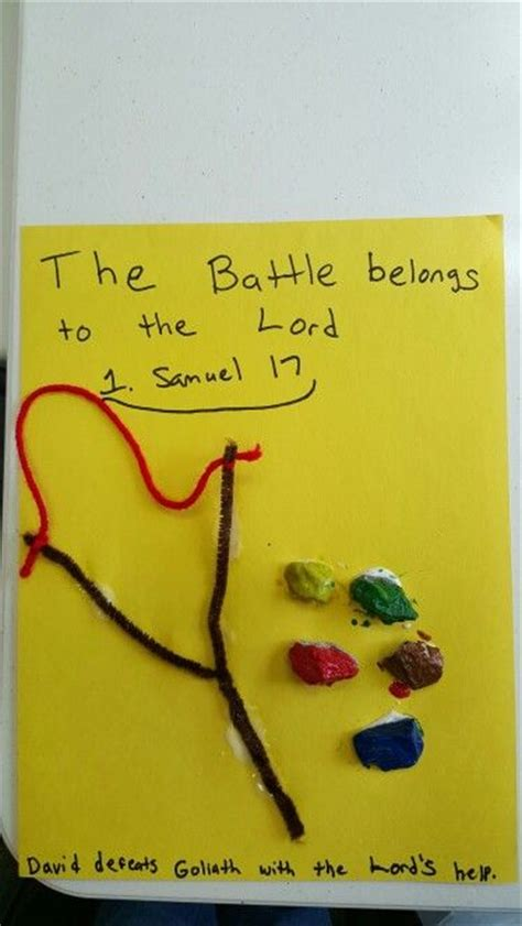 david and goliath crafts for 24 best images about sunday school 2 3 year olds on