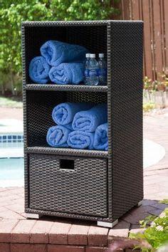 outdoor pool towel storage 1000 ideas about pool towel storage on pinterest pool