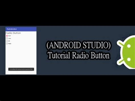 tutorial fl studio bahasa indonesia android studio tutorial widget radio button bahasa