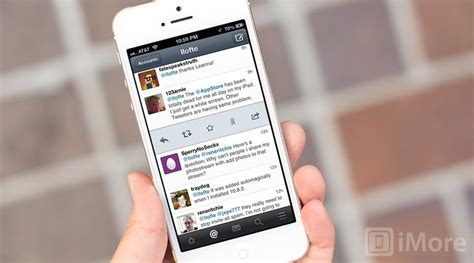 flurry  twitter  iphone review imore