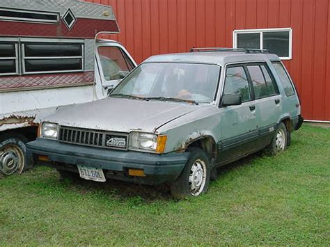 1986 Toyota Wagon Used Parts For 1984 1986 Toyota Tercel Station Wagons