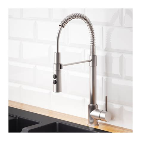 kitchen faucet with handspray vimmern kitchen faucet with handspray ikea