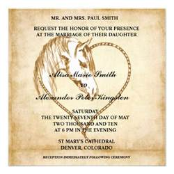 western wedding invitations announcements 5 25 quot square invitation card zazzle