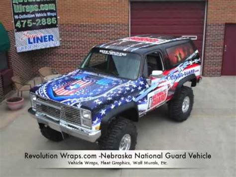 vehicle wraps lincoln ne national guard lincoln ne vehicle wrap by revolution