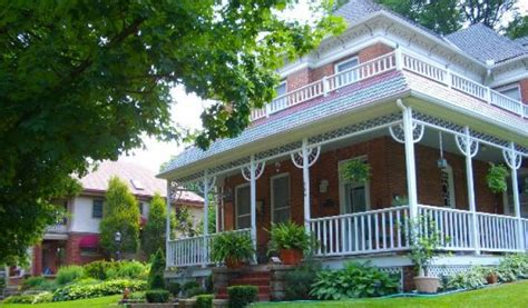 main street bed breakfast downtown parkville mo remakable setting and people