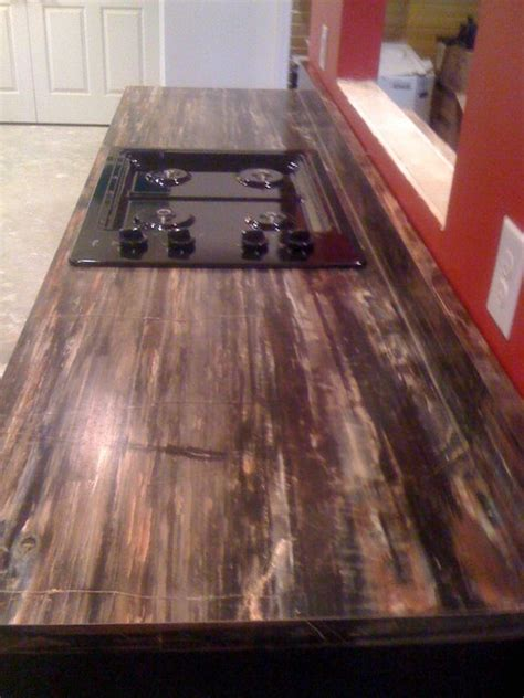 Wood Laminate Countertop by Petrified Wood Formica Laminate Modern Kitchen