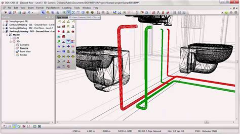 home design software electrical and plumbing dds cad getting started plumbing system design 7 8