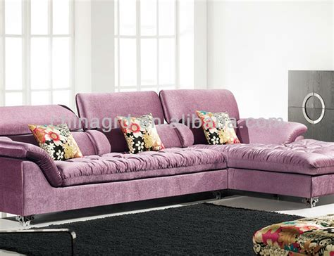 pink sofa for sale foshan emass l shape pink sofa furniture for sale em 869