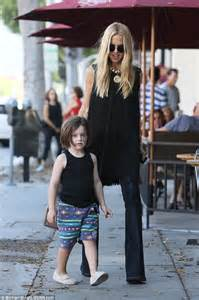 44 year old style rachel zoe steps out in tasseled vest as she bonds with