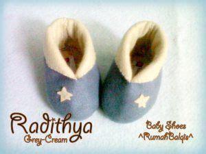 Aksara Sepatu Bayi Flower Pink Baby Shoes sepatu bayi flanel