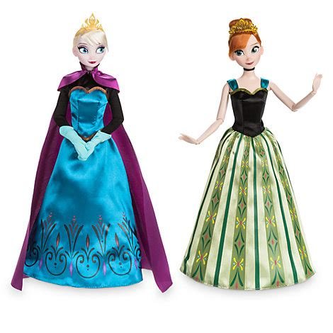 value of frozen doll and elsa classic doll set frozen