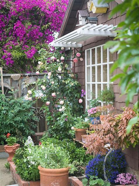 small cottage garden ideas landscaping tips for small space cottage gardens gardens
