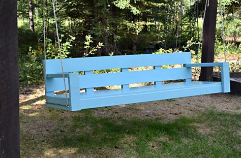 how to make a swing bench ana white large modern porch swing or bench diy projects