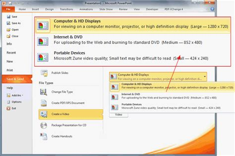 format video powerpoint two methods to create hd video using powerpoint in all