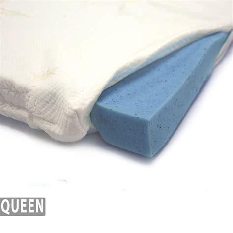 memory foam futon cover gel infused memory foam mattress topper bamboo cover