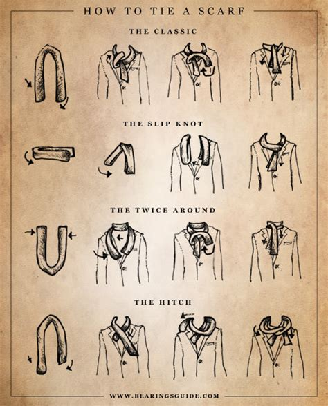 85 how to tie a scarf from to toe tip junkie